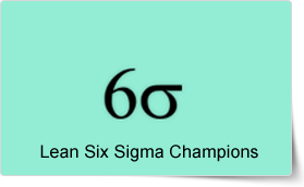 Lean Six Sigma Champions Course