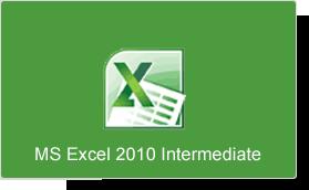 Microsoft Excel 2010 Intermediate Training Course