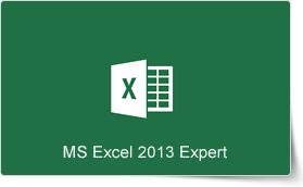 Microsoft Excel 2013 Expert Training