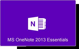 Microsoft OneNote 2013 Essentials Training Course