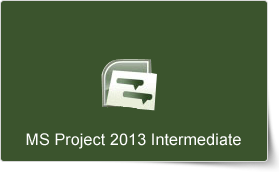 Microsoft Project 2013 Intermediate Training Course