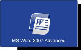 Microsoft Word 2007 Advanced Training Course