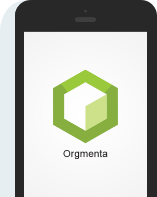 Orgmenta app in device