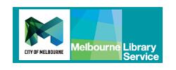 Melbourne Library Service logo