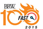 BRW Fast 100 List for 2015 logo